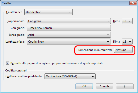 Come aumentare zoom pagine su Firefox PC
