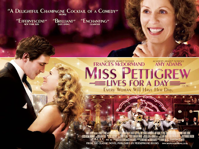 Fabulous Film Fashions Miss Pettigrew Lives for a Day