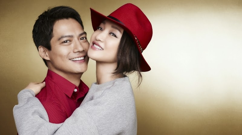 A Modern, Fun & Chic Chinese New Year, H&M Celebrity Couple Zhou Xun and Archie Kao