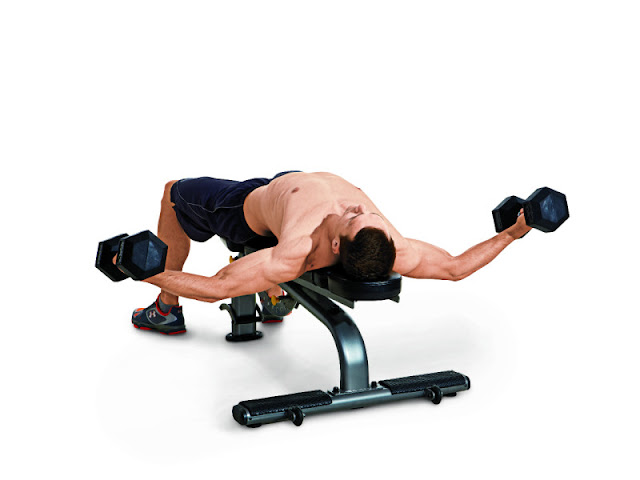 Best Chest Exercises of All Time - 30 Exercise - Dumbbell Flye