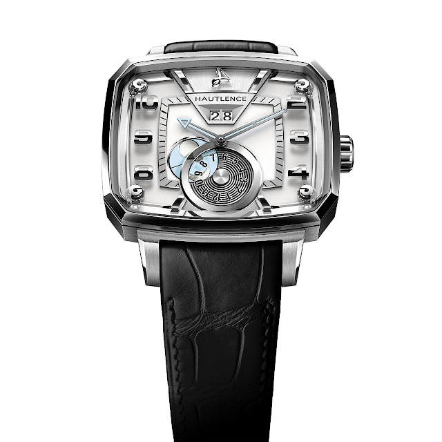 Hautlence Destination 02 Watch silver