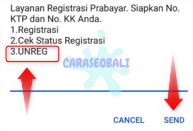 cara unreg registrasi kartu telkomsel