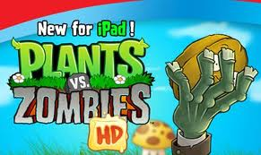 Free Download Plants vs  Zombies HD Game for iPad