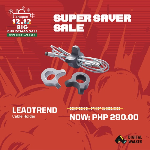 Leadtrend Cable Holder at Php290