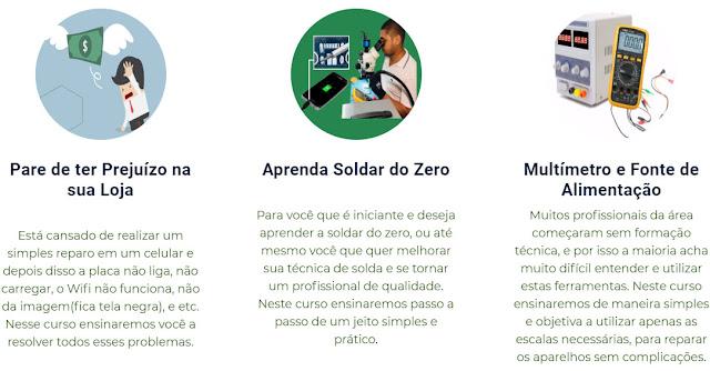 CURSO MANUTENÇÃO DE CELULARES COM REPAROS EM PLACAS BÁSICO AO AVANÇADO
