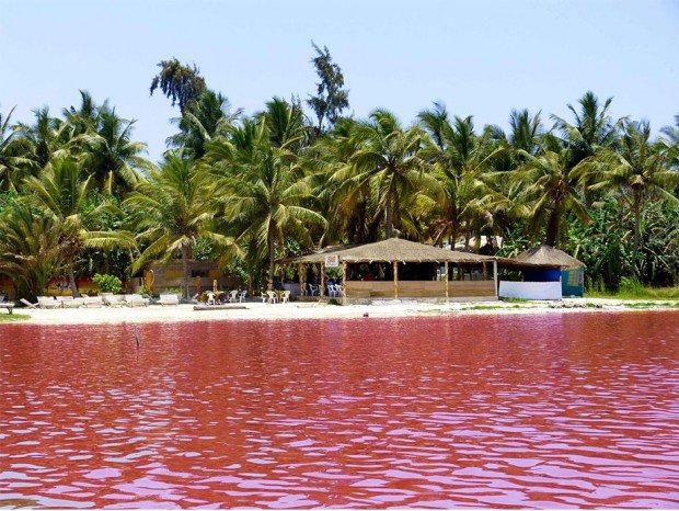 The Lac Rose (Or Lake Retba ) in Senegal
