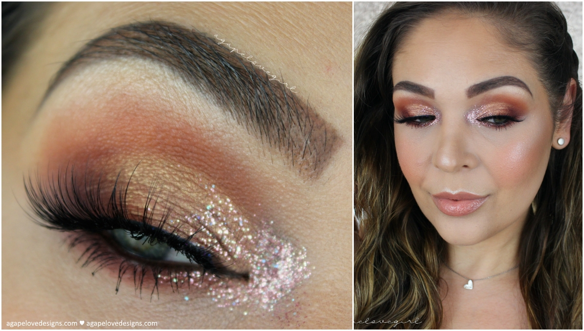 Agape love designs bling it on inner corner glitter makeup bling it on inner corner glitter makeup tutorial mba cosmetics baditri Image collections