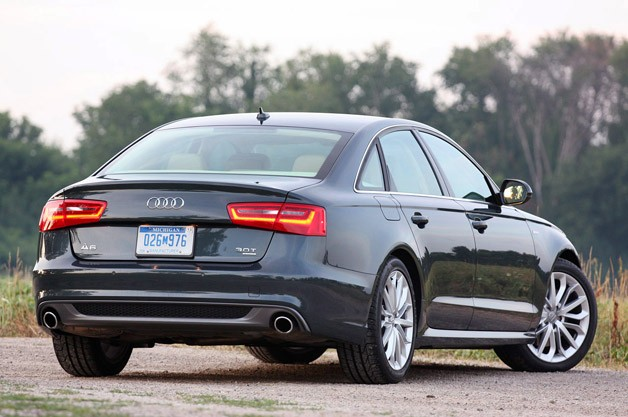 2012 audi a6 review test and review. Black Bedroom Furniture Sets. Home Design Ideas