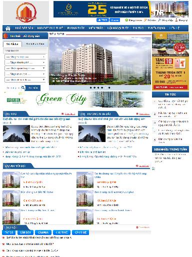 Template blogspot sàn giao dịch bất động sản