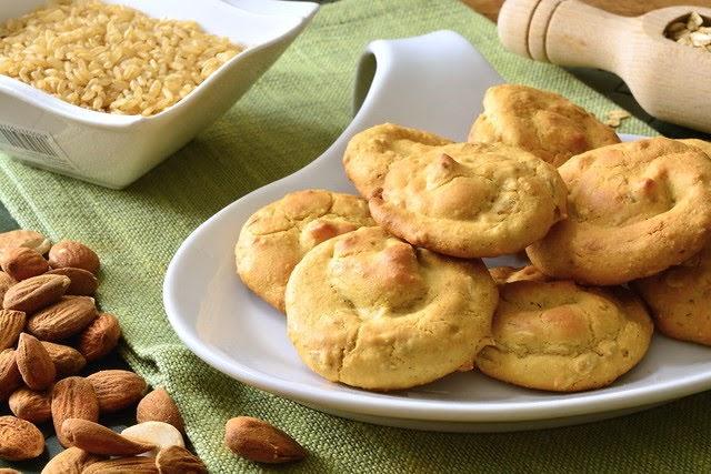 Biscotti senza glutine con farina di mandorle