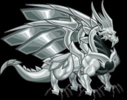 Dragón Metal (Adulto)