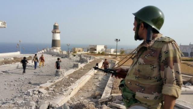 هجوم صاروخي على مطار عدن الدولي