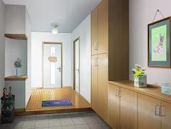 Anime Landscape: Apartement Doorway Anime Background