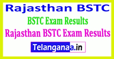 Rajasthan BSTC Exam Results