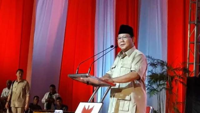 Prabowo Sebut Defisit BPJS Kesehatan Masalah Kecil