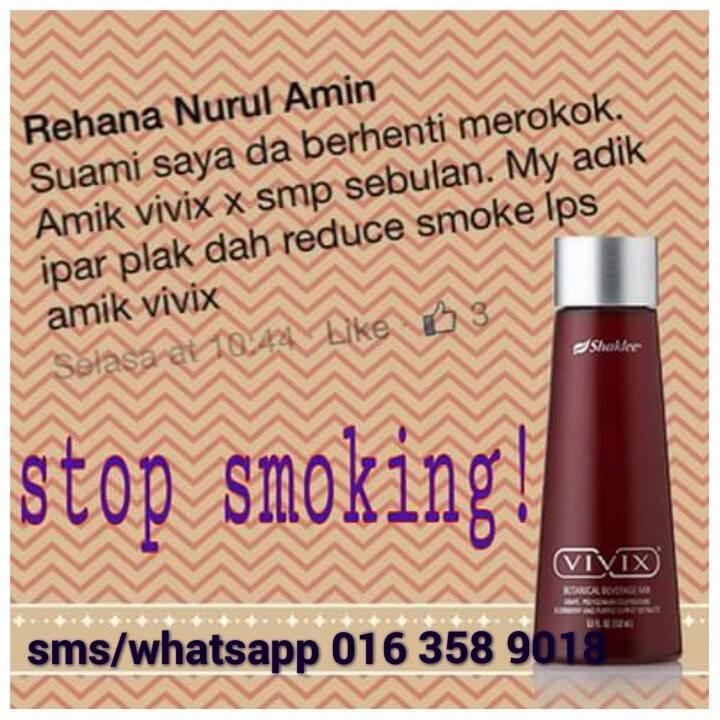 Testimoni vivix untuk perokok