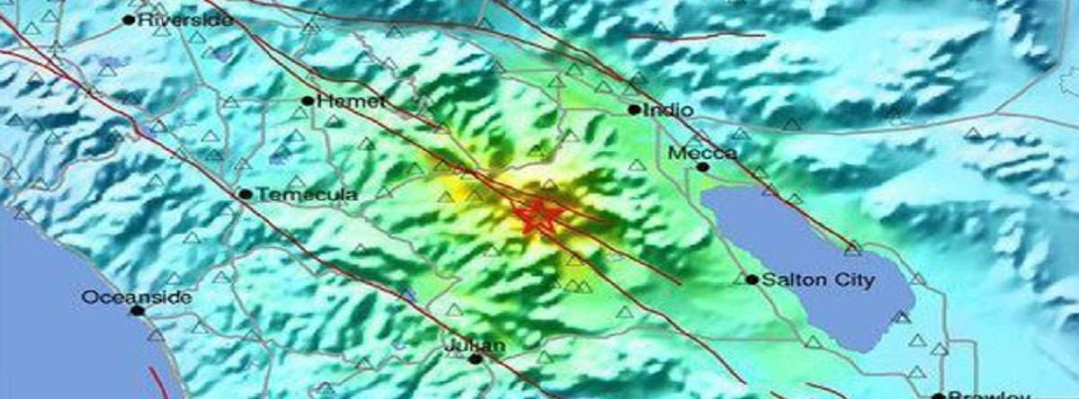 Temblor de Tierra zona de California