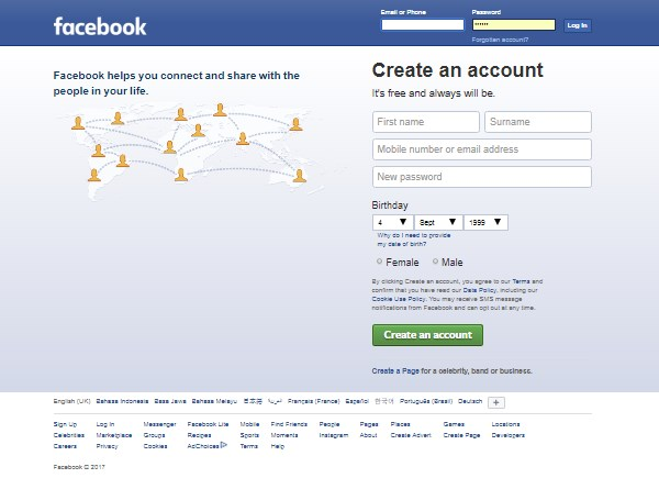 facebook login signup learn more welcome
