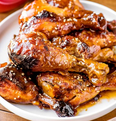 CROCK POT CRANBERRY BBQ DRUMSTICKS