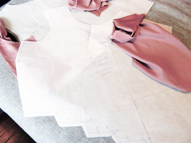 Sewing pattern drafting cutting rules