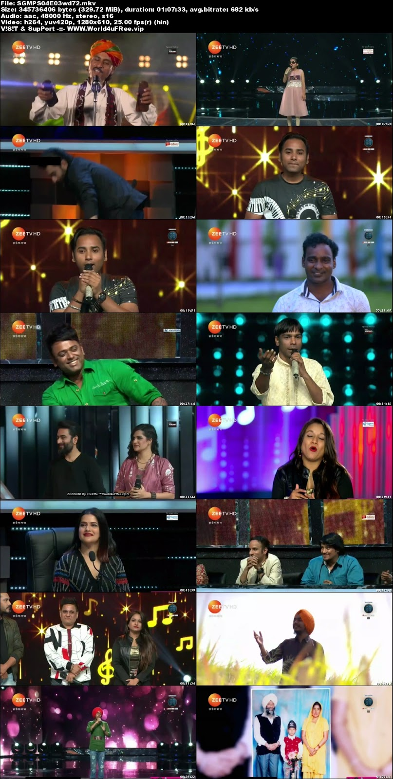Sa Re Ga Ma Pa 2018 S04 Episode 03 720p HDTV 350Mb x264 world4ufree.vip tv show Sa Re Ga Ma Pa 2018 S04 2018 hindi Zee tv show compressed small size free download or watch online at world4ufree.vip