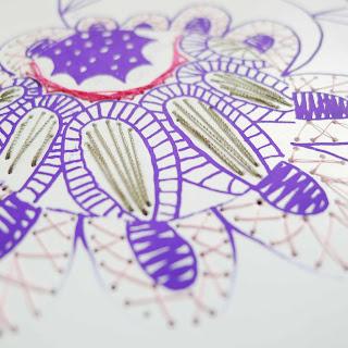kit broderie papier http://bidulafil.fr/p/66-karin-carnet-a5-serigraphie.html
