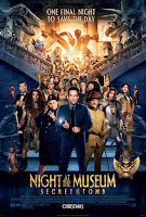 mini review Night at the Museum: Secret of The Tomb