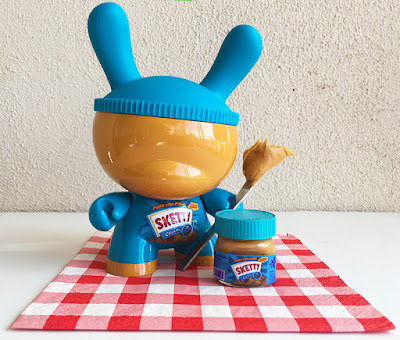 "Sketty Custom 8"" Dunny Resin Figure by Sket One"