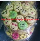 Foto Kue Kering Emoticon