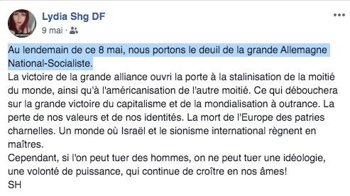 Dissidence Française, Lydia Da Fonseca, Vincent Vauclin,