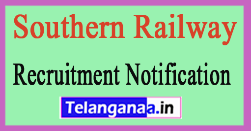 Southern Railway Recruitment Notification