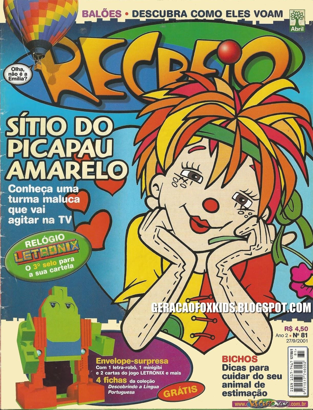 Revista Recreio Pdf