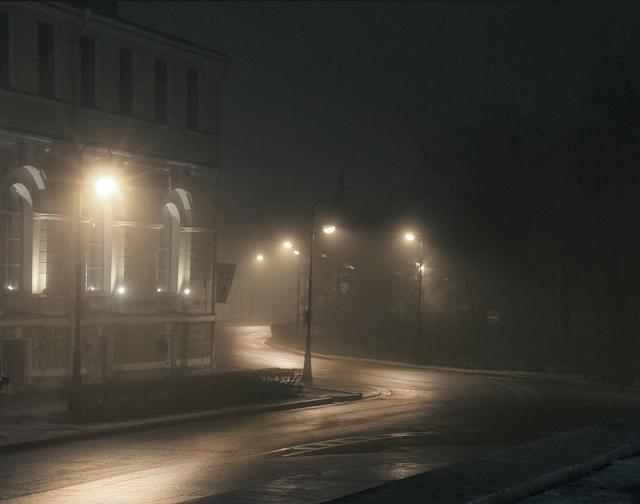 Санкт-Петербург туман фото