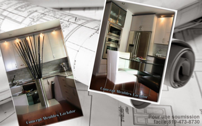 Armoires de cuisine concept meubles lackdor drummondville