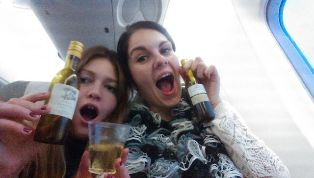 opiť sa v lietadle