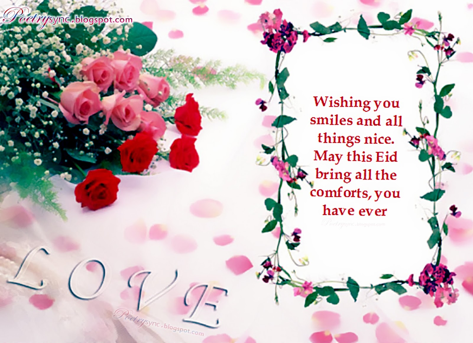 Happy eid mubarak wishes message for lovers with images romantic happy eid mubarak wishes message for lovers with kristyandbryce Gallery
