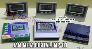 Jam Meja Promosi – Jam Meja Digital JMP-01, Souvenir jam meja, jam meja promosi, jam meja unik, jam meja digital, atau desk digital clock