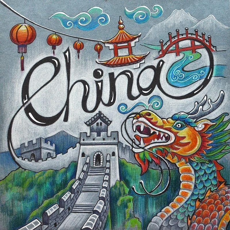 05-China-Anna-Cheberiak-Travel-Journal-Countries-Plus-Fantasy-Drawings-www-designstack-co