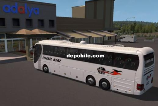 ETS2 1.34 Çalışan Man Fortuna Otobüs Modu İndir (Muavinli) 2019