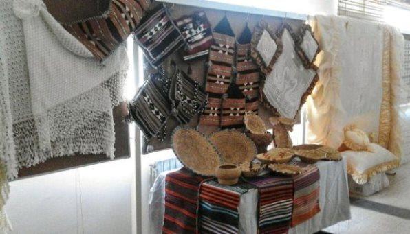 أعمال يدوية وحرفية ضمن معرض في مدينة شهبا لمجموعة سيدات من السويداء
