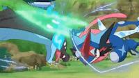 Greninja Ash vs Mega Charizar X