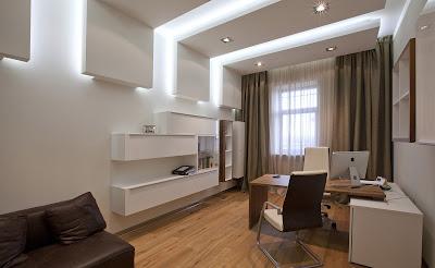 gypsum board design for office ceiling design with false ceiling lighting