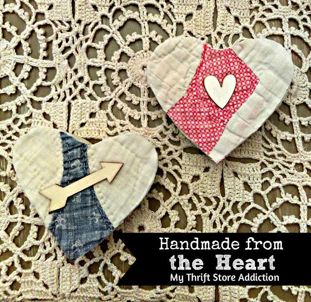 Handmade vintage valentine gifts