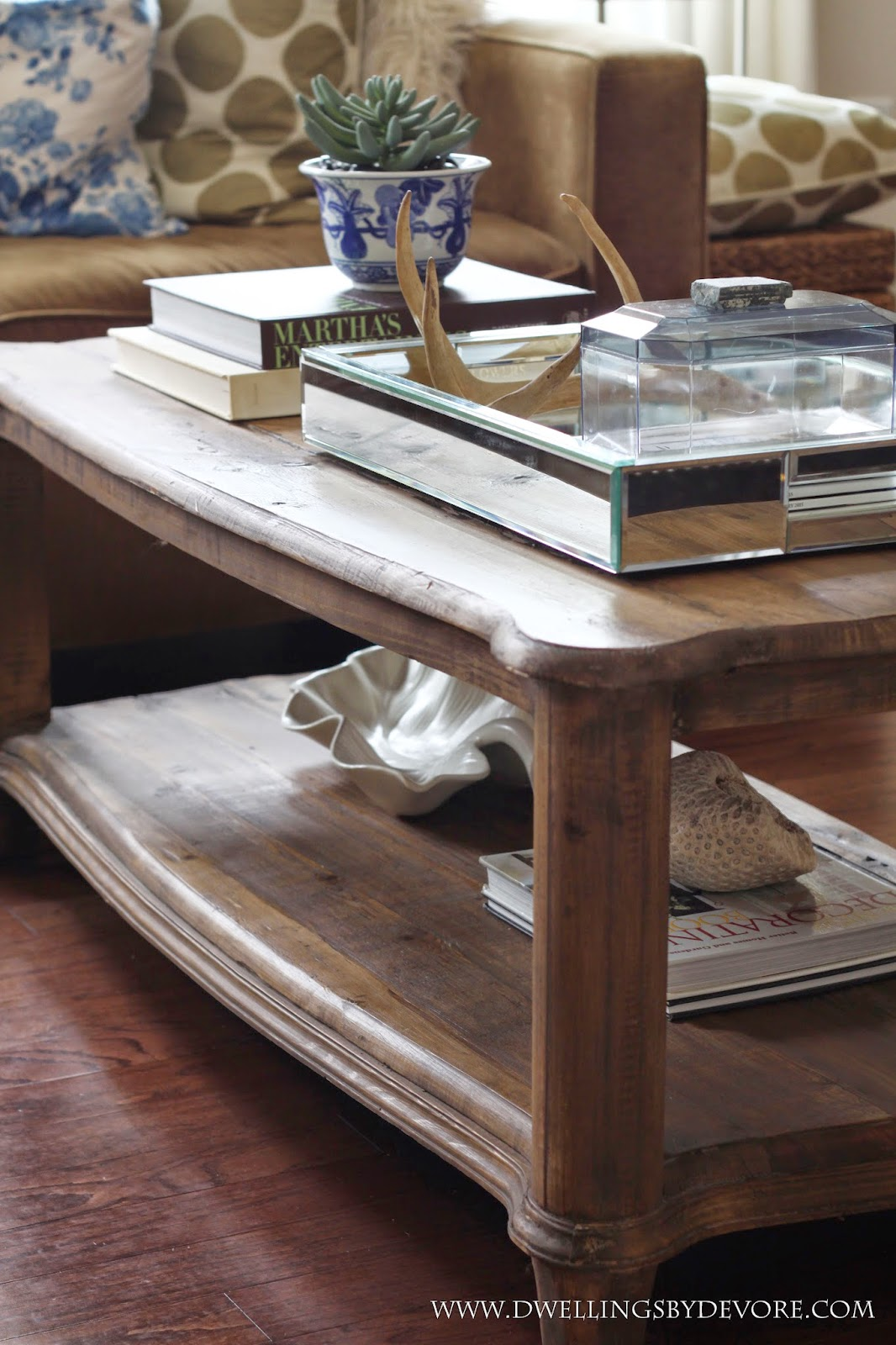 Dwellings By Devore Our New Coffee Table A Diy