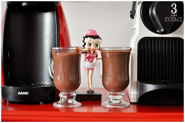 receita de chocolate quente