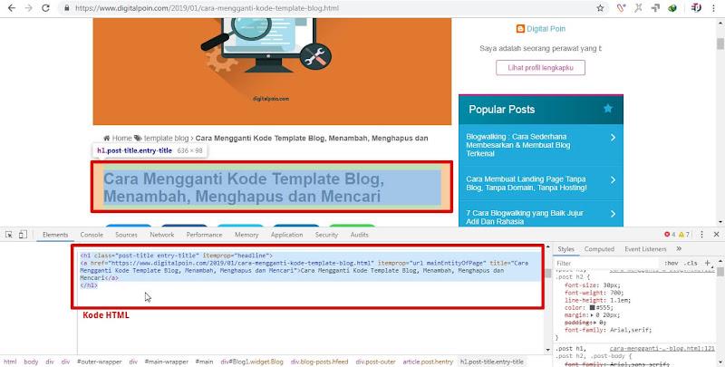 Kode Blog