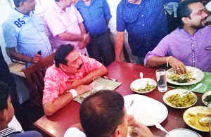 Last night Mahinda loyalists have held the last meeting on the new party