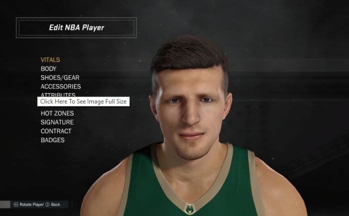 491730a8176e NBA 2K17 Mirza Teletovic Cyberface Update by R4zoR - DNA Of ...