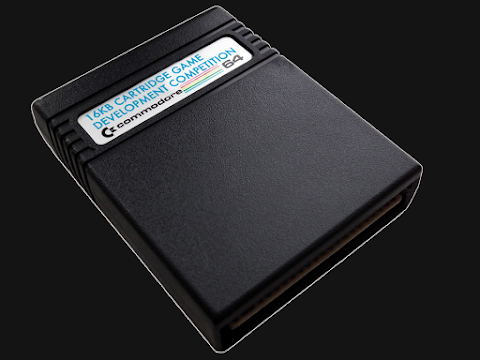 RGCD: C64 16KB Cartridge Game Development Competition!