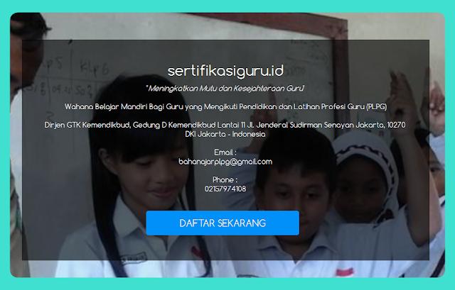 Panduan Aplikasi Pendaftaran Sertifikasi Guru Terbaru